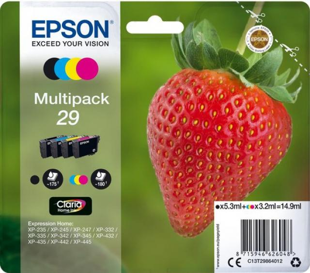 Epson 29XL multi - aardbei  GI29multi