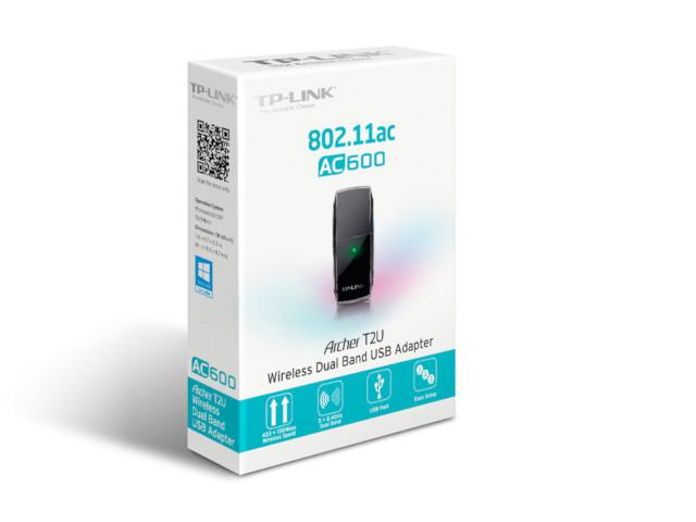 TP-link draadloze USB Adapter AC600 Archer T2U (EU)