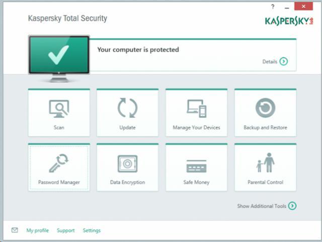 Kaspersky Total Security Multi-Device Kaspersky Total Security Multi-Device
