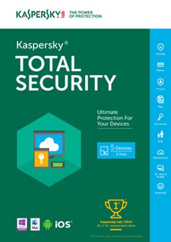 Kaspersky Total Security Multi-Device3 Kaspersky Total Security Multi-Device3