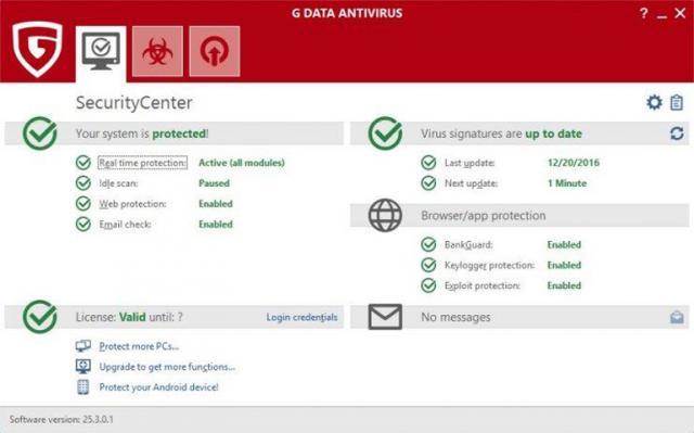 G Data AntiVirus 2 G Data AntiVirus 2