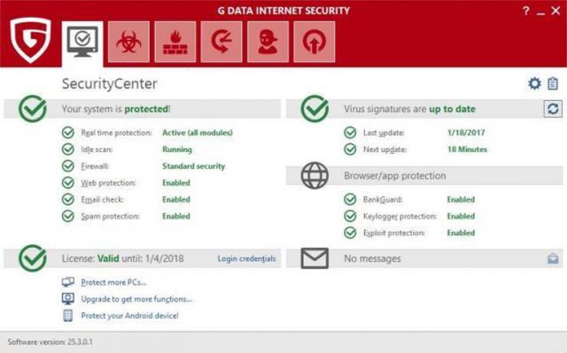 G Data Internet Security G Data Internet Security