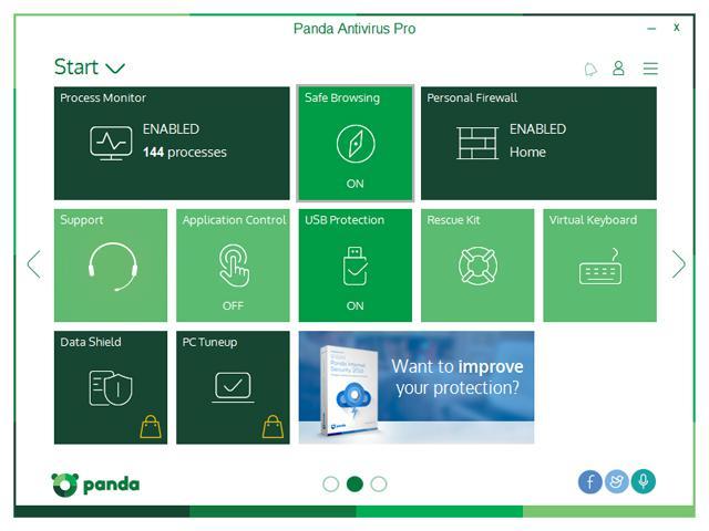 Panda Antivirus Pro  5  Panda Antivirus Pro 5